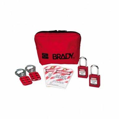Brady 105969 Personal Padlock Pouches
