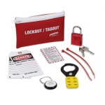 Brady LK627E Standard Lockout Belt Packs with Padlock