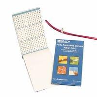 Brady PWM-PK-12 Vinyl Cloth Porta-Pack Wire Markers