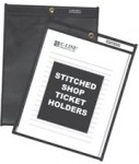 C-Line Products, Inc. CLI45912 Stitched Shop Ticket Holders