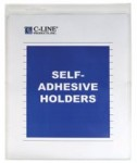 C-Line Products, Inc. CLI70912 Self-Adhesive Shop Ticket Holders