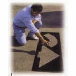 6 Piece Parking Lot Stencil Kits