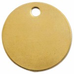 C.H. Hanson 1078B Brass Tags