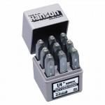 Heavy Duty Steel Hand Stamp Sets