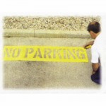 No Parking Stencil Kits