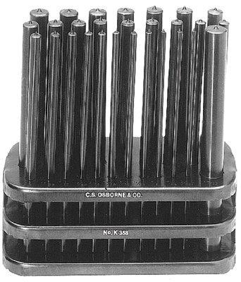 C.S. Osborne K-358 Punch Sets