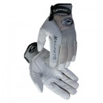 Caiman 2970-M Gray Deerskin Leather Gloves
