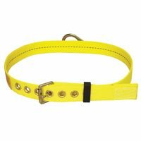 Capital Safety 1000615 DBI-SALA Tongue Buckle Body Belt with Back D-ring and No Pad