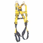 Capital Safety 1101781 DBI-SALA Delta Vest Style Harness with Back and Shoulder D-Rings