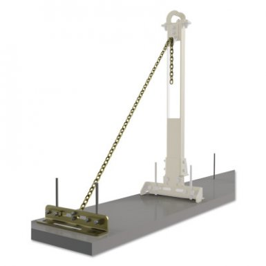 Capital Safety 7400214 DBI-SALA SecuraSpan Rebar/Shear Stud HLL Tie-Back Bases with Chains