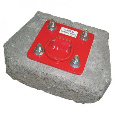 Capital Safety AJ720A Protecta PRO Concrete D-Ring Anchorage Plates