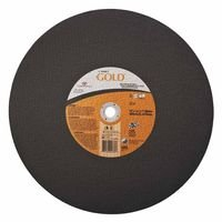Carborundum 66252837844 Carbo Gold Aluminum Oxide High-Speed Saw Reinforced Cut-off Wheels