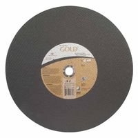 Carborundum 66252837845 Carbo Gold Aluminum Oxide High-Speed Saw Reinforced Cut-off Wheels