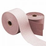Carborundum 5539520337 Carbo Premiere Red Stick-On Paper Rolls