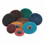 Carborundum 5539554456 Carbo Surface Prep Non-Woven Quick-Change Disc