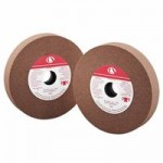 Carbo White Bench and Pedestal Wheels - Aluminum Oxide