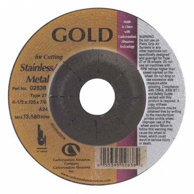 Carborundum 5539502838 Gold Aluminum Oxide