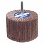 Carborundum 8834144457 Merit Abrasives Interleaf Flap Wheels with Mounted Steel Shank
