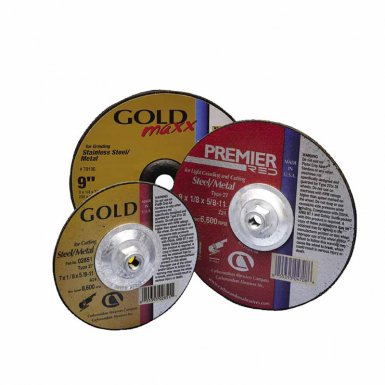 Premier Red Abrasive Wheels for Light Grinding and Cutting