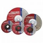 Carborundum 66252844361 Premier Red Abrasive Wheels for Light Grinding and Cutting