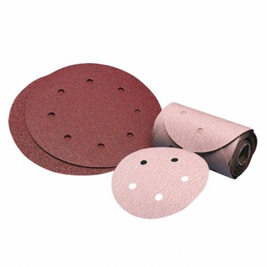 Carborundum 5539515304 Premier Red Aluminum Oxide Dri-Lube Paper Discs