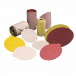 Carborundum 5539518166 Premier Red Aluminum Oxide Dri-Lube Paper Discs