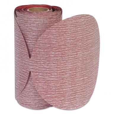 Carborundum 5539518171 Premier Red Aluminum Oxide Dri-Lube Paper Discs