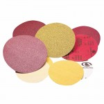 Carborundum 5539520257 Premier Red Aluminum Oxide Dri-Lube Paper Discs