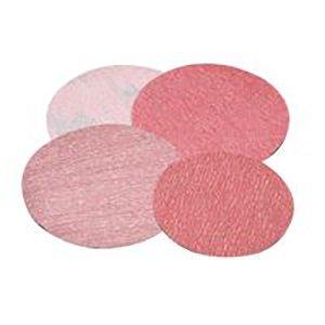 Carborundum 5539520263 Premier Red Aluminum Oxide Dri-Lube Paper Discs