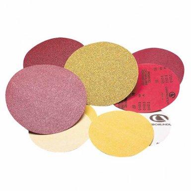 Carborundum 5539520282 Premier Red Aluminum Oxide Dri-Lube Paper Discs