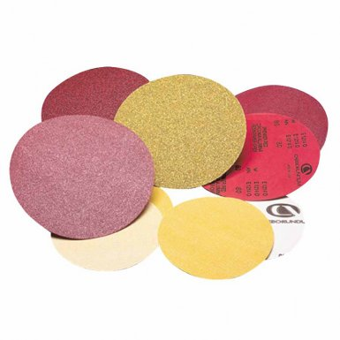 Carborundum 5539520287 Premier Red Aluminum Oxide Dri-Lube Paper Discs