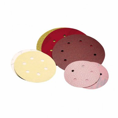 Carborundum 5539520330 Premier Red Aluminum Oxide Dri-Lube Paper Discs