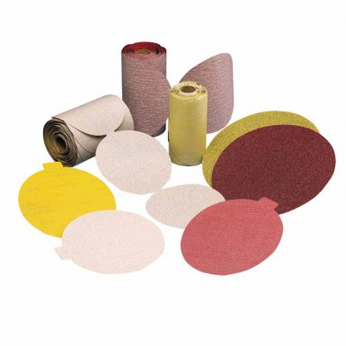 Carborundum 5539561108 Premier Red Aluminum Oxide Dri-Lube Paper Discs