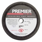 Carborundum 5539509155 Premier Red Zirconia Alumina