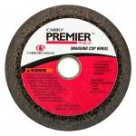 Carborundum 5539563938 Premier Red Zirconia Alumina