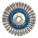 Carborundum 30662528445032 Stringer Bead Knot Wire Wheel Brushes