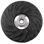 CGW Abrasives 49506 Air-Cooled Rubber Back-Up Pads
