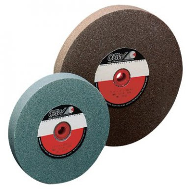 CGW Abrasives 35033 Bench Wheels, Green Silicon Carbide, Carton Pack