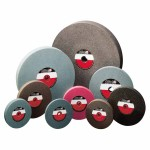 CGW Abrasives 35074 Bench Wheels, Brown Alum Oxide, Carton Pack
