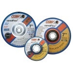 "CGW Abrasives 35622 Depressed Center Wheels- 1/4"" Grinding, Type 27"