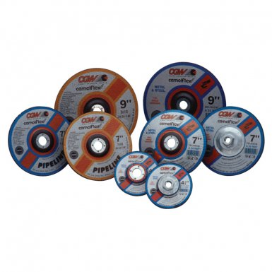 CGW Abrasives 35680 Depressed Center Wheels-Pipeline, Cutting/Light Grind