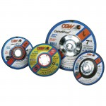 """CGW Abrasives 45052 Depressed Center Wheels-Cutting / Notching - 1/8"""""""