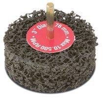 CGW Abrasives 70052 EZ Strip Wheels, Non-Woven