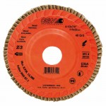 CGW Abrasives 39724 Flap Discs, Z3 Trimmable