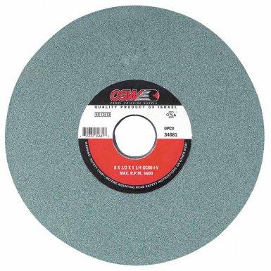 CGW Abrasives 34703 Green Silicon Carbide Surface Grinding Wheels