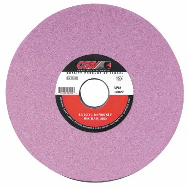CGW Abrasives 58001 Pink Surface Grinding Wheels