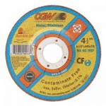 CGW Abrasives 45003 Quickie Cut Contaminate Free Cut-Off Wheels