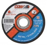 CGW Abrasives 45099 Super-Quickie Cut Cut-Off Wheels
