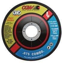 CGW Abrasives 70097 Super-Quickie Cut Cut/Grind Combo Wheels