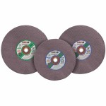 CGW Abrasives 35599 Type 1 Cut-Off Wheels, High Speed Gas Saws